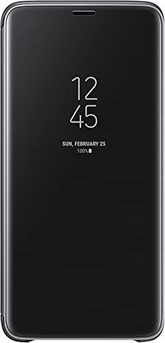 new arrival Samsung Galaxy S9+ S-View popular Flip Case with sale Kickstand, Black online