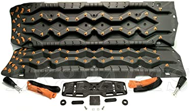 Tred Pro Total Recovery Extraction Matts Gray and Orange with mounting kit 4X4