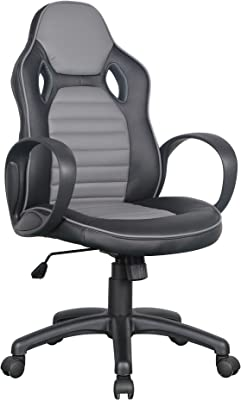 Euco Reclining Office Chair Back Support Grey Executive