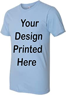 Custom T-Shirt. Personalized Tee. Add Your Design Logo Image Picture