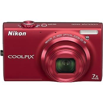 NikonデジタルカメラCOOLPIX S6100 スーパーレッド S6100RD