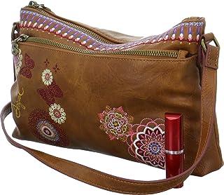 0e7c4e21649 DESIGUAL Bag DURBAN Female Brown - 19SAXPB2-6000-U