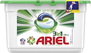 Ariel Automatic 3in1 PODS Laundry Detergent Original Scent, 15 count