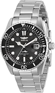 Women's Pro Diver Quartz Watch with Stainless Steel Strap, Silver, 20 (Model: 30479)