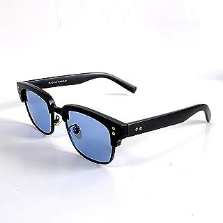 ヴィンテージ ブローフレーム ブルー デザイン サングラス サーモント 人気 おしゃれ ブランド ポリス 富士山眼鏡 FUJIYAMA GLASSES