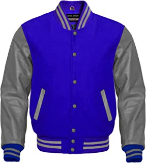 Best wool varsity jackets with leather sleeves Reviews