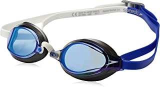 Speedo Speed Socket 2.0 Mirrored Swim Goggles, Curved,...