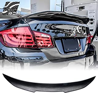 AeroBon Carbon Fiber Rear Trunk Spoiler Wing for BMW 2009-2016 F10 5-Series Sedan and M5 (H Style)