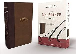 john macarthur large print study bible