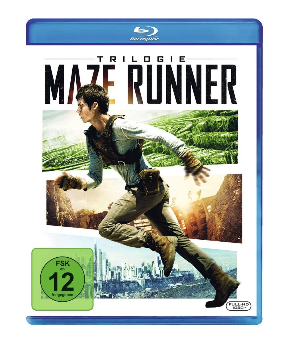 Maze Runner Trilogie [Blu ray],German inport Amazon.de Poulter ...