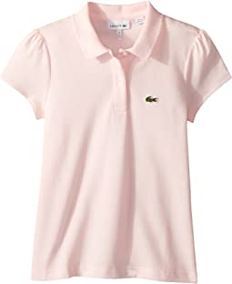 Lacoste Kids Short Sleeve Mini Pique New Iconic Polo (Infant/Toddler/Little Kids/Big Kids)