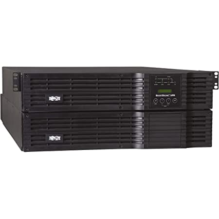 Tripp Lite 5000VA SmartOnline UPS, Double-Conversion, 208/240 & 120V, 4U Rack/Tower, Extended Run, Network Card Options, USB, DB9, Bypass Switch (SU5000RT4U)