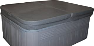 Prestige Spa 84 Inches x 84 Inches Replacement Spa Cover and Hot Tub Cover - Charcoal