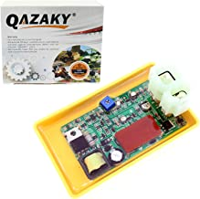 QAZAKY Adjustable High Performance Racing 6 Pin DC CDI Box GY6 50cc - 90cc 110cc 125cc 150cc 200cc 250cc Scooter ATV Go Kart Moped Quad Dune Buggy Pit Dirt Bike Kymco Agility People Sento 50 125 150