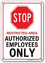 Best unauthorized personnel not allowed Reviews