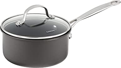 Cuisinart 619-16 Chef's Classic Nonstick Hard-Anodized 1-1/2-Quart Saucepan with Lid Black