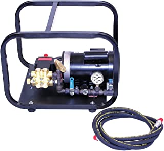 Wheeler-Rex Hydrostatic Test Pump, Electric, Twin Piston, Positive Displacement, 1 HP, 1 GPM, 1000 psi - 33100