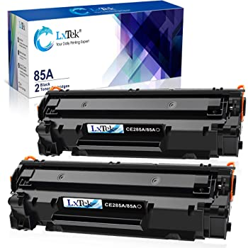 LxTek Compatible Toner Cartridge Replacement for HP 85A CE285A to use with Laserjet Pro P1102W Laserjet Pro P1109W M1212NF M1217NFW Printer (Black, 2-Pack)