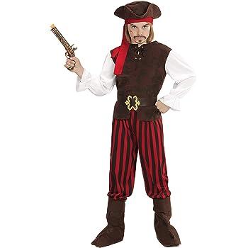 WIDMANN 65647 infantil Disfraz Pirata Niño, Boys, 140 cm: Amazon ...