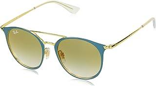 489b685c7 Óculos de Sol Ray Ban Junior Rj9545s 275/w0/47 Turquesa/dourado