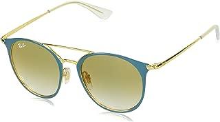 RJ9545S Round Kids Sunglasses, Gold On Top...
