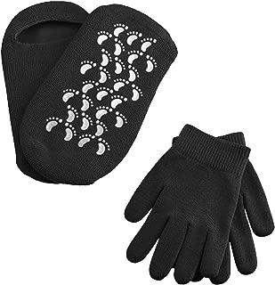 LERTREE 1 Pair Moisturizing Spa Gloves & Socks Reusable Moisturizer Smooth Feet Mask Socks Hand Care Gloves