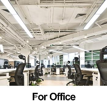 FaithSail 4FT LED Wraparound 40W 4 Foot LED Shop Lights for Garage, 4400lm 4000K Neutral White, Wrap Light, 48 Inch L...