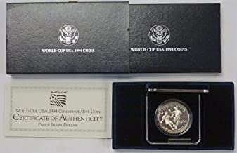 1994 S World Cup USA Commemorative Proof Dollar OGP US Mint