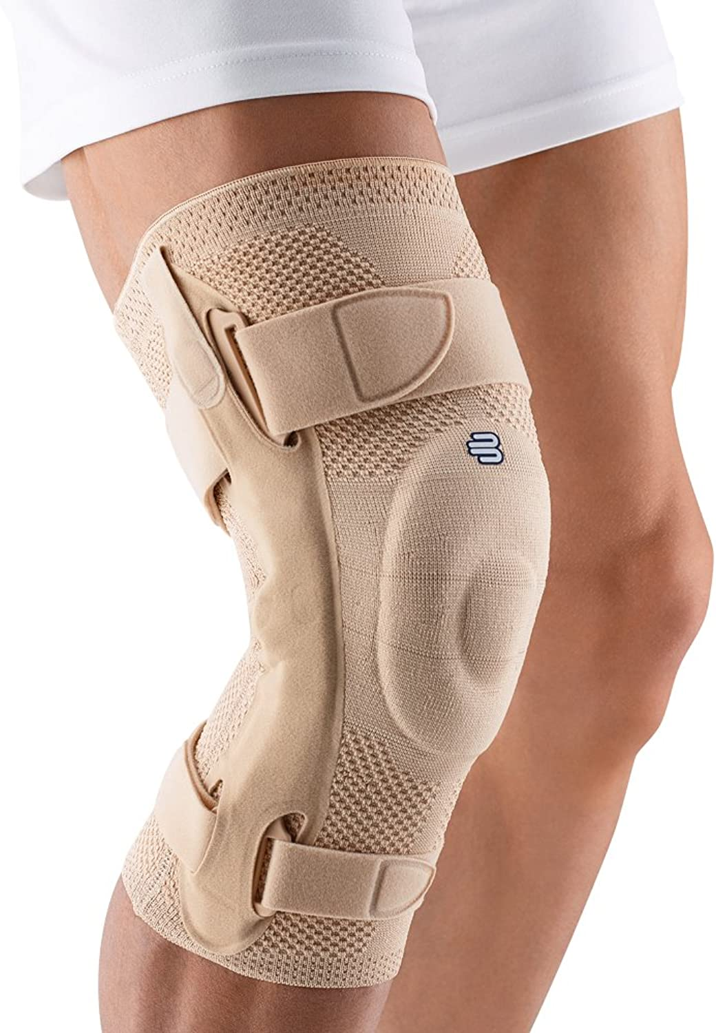 Bauerfeind  GenuTrain S  Knee Support  Extra Stability to Keep The Knee in Proper Position  Left Knee  Size 6  color Nature