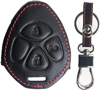Rpkey Leather Keyless Entry Remote Control Key Fob Cover Case protector For Toyota 4Runner Corolla Matrix RAV4 Venza Yaris Pontiac Vibe Scion iQ tC xB xD HYQ12BBY MOZB41TG