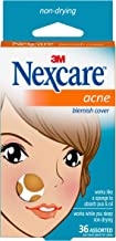 Nexcare Acne Cover, Invisible, Hydrocolloid Technology, Non-Drying, Drug-Free, 36 count