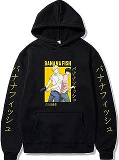 Banana Fish Hoodie Unisex Anime Banana Fish Ash Lynx Eiji Pullover Hoodie Jacket Hip Hop Long Sleeve Hooded Streetwear Swe...