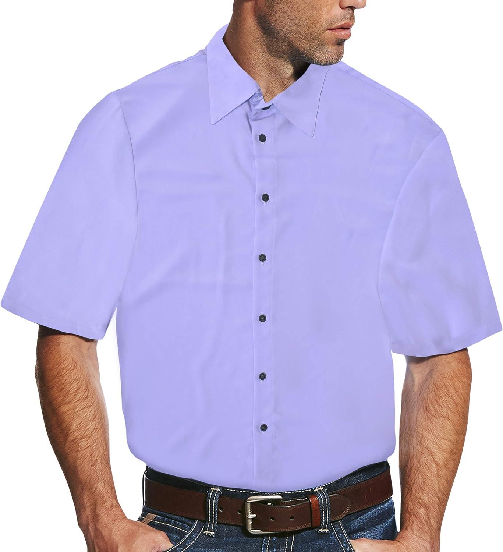 SHIRTS MADE IN USA Lavender Regular Fit - Dress Shirt for Men