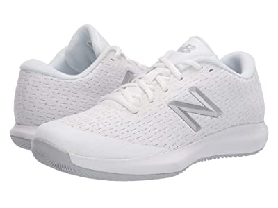 New Balance Kids KC996v4 Tennis (Little Kid/Big Kid) (White/White) Kids Shoes