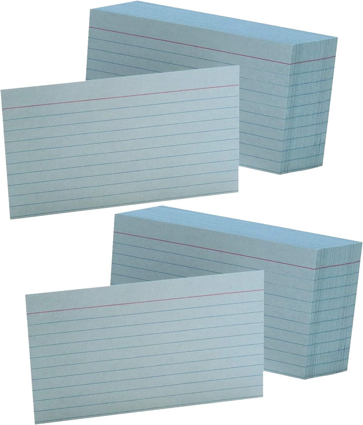 Ruled Color Index Cards 3