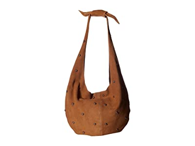 Sam Edelman Thea Knotted Hobo (Gold Caramel) Handbags