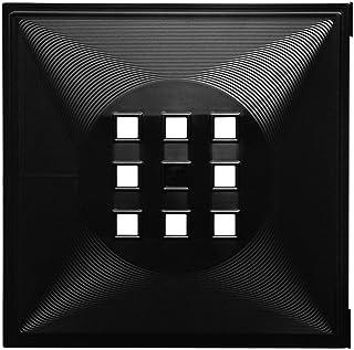 Forma deka diseño puerta para dados Regal Flexi para Ikea estantería Expedit + Nornas Kallax con * Negro