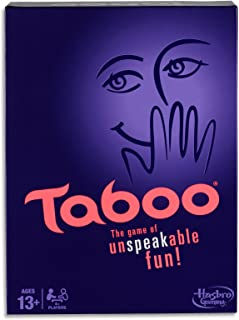 Taboo - Family Word Games - Unspeakable Fun - 4 Plus Players - Ages 13+