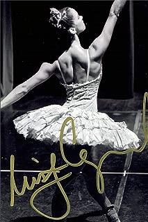 Misty Copeland Autograph Replica Super Print - Black White - Portrait - Unframed