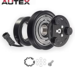AUTEX AC A/C Compressor Clutch Assembly Kit 55111400AA Replacement for 2006 2007 2008 JEEP LIBERTY 2007 2008 DODGE NITRO