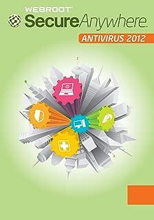 Webroot SecureAnywhere Antivirus 2012 (3 PCs) [Old Version]