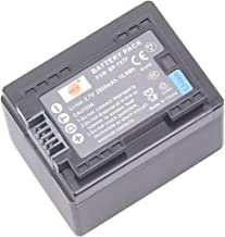 DSTE Replacement for BP-727 Fully Decoded Battery Compatible Canon CG-700 VIXIA HF R30 R32 R40 R42 R50 R52 R60 R62 R66 R70 R72 R300 R400 R500 R506 R600 R700 M500 M506 SLR Cameras as BP-727F BP-718