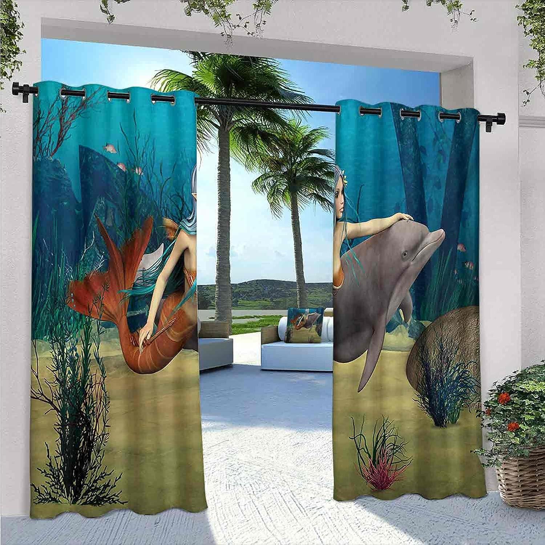 Mermaid Waterproof Gazebo Curtains Cute Gi Luxury Marine Luxury Fairy