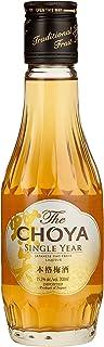 The Choya Single Year japanischer Fruchtlikör, alkoholhaltiges Getränk aus Japan, Ume Frucht Likör, 15,5% vol. 1er Pack 1 x 0,2 l