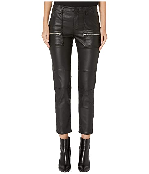 The Kooples Biker Leather Effect Jeans