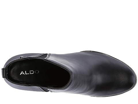 Leatherblack Nubuckcognac Pessa Unisexo Negro Aldo WTqZBnwRx7