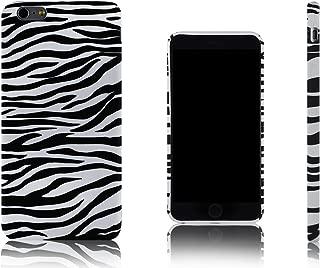 Xcessor Zebra Rayas de Cebra Funda Carcasa Flexible TPU para Apple iPhone 6 Plus. Negro/Blanco.