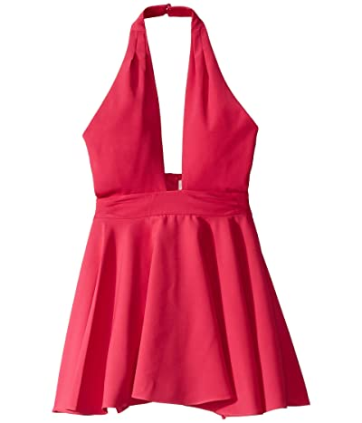 Milly Minis Sydney Dress (Big Kids) (Magenta) Girl