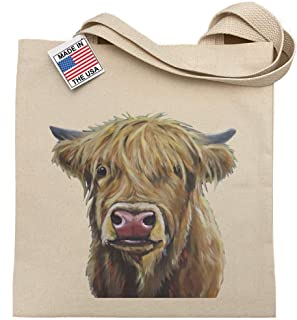 Highland Cow Tote Bag, Highland Cow Gifts