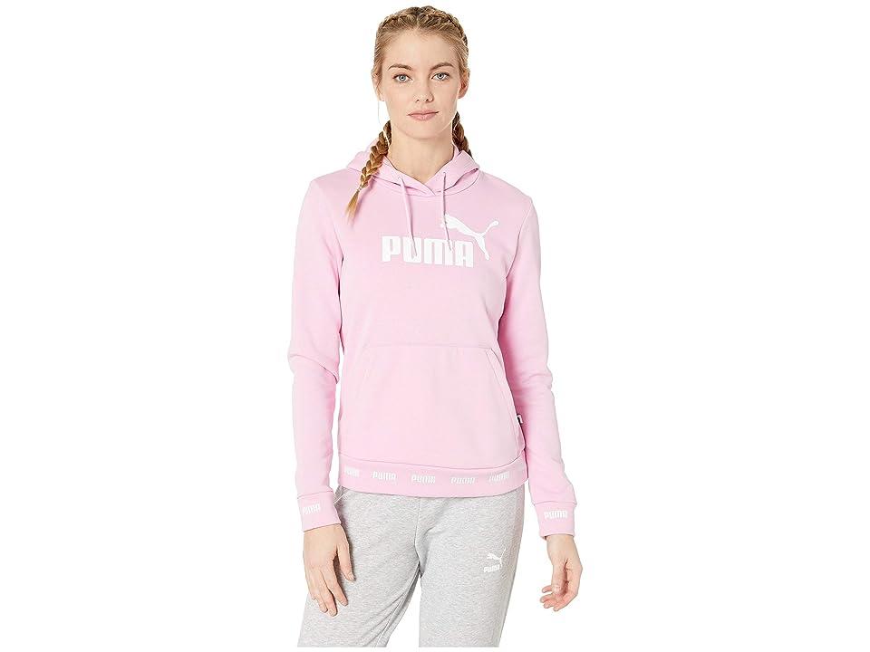 PUMA Amplified Hoodie (Pale Pink) Women